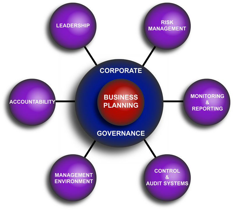 Corporate governance codes of conduct and accountability software