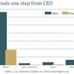 Individuals one step from CEO